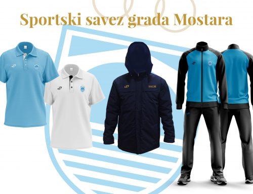 Sportski savez grada Mostara u Novoj godini u novoj sportskoj opremi!